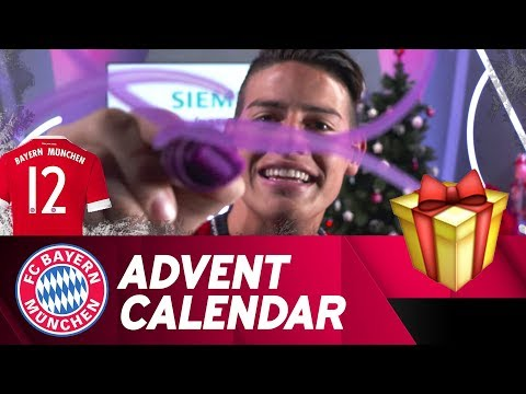 Drawing w/ James Rodríguez | FC Bayern Xmas Advent Calendar #12