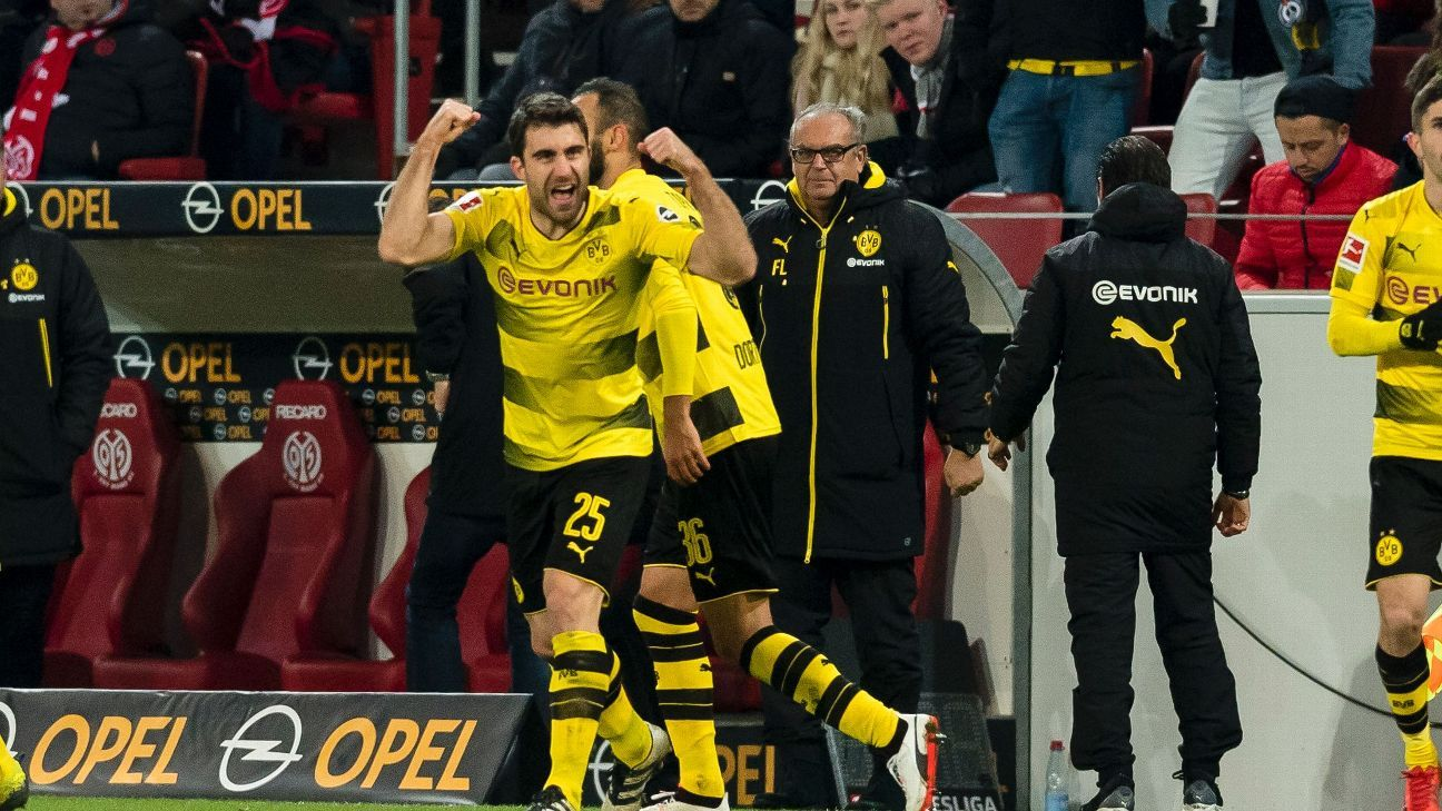 Sokratis Papastathopoulos strike seals debut Dortmund win for Peter Stoger