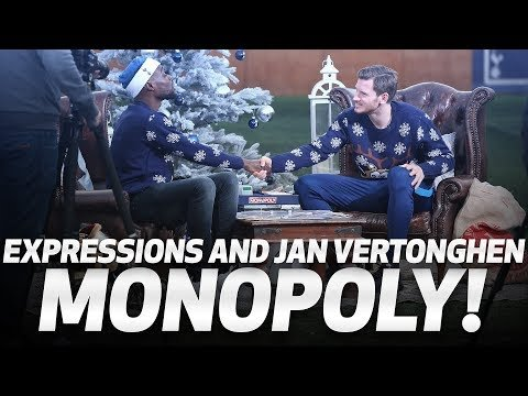 SPURS MONOPOLY | Jan Vertonghen and Expressions go head-to-head!