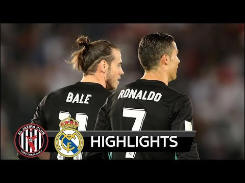 Al Jazira vs Real Madrid 1-2 - All Goals & Extended Highlights - Club World Cup 13/12/2017 HD