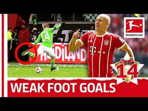 Top 10 Weak Foot Goals - Özil, Robben And More - Bundesliga 2017 Advent Calender 14