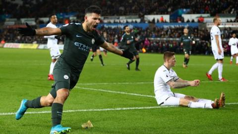 Premier League: Man City's record-breaking run in numbers