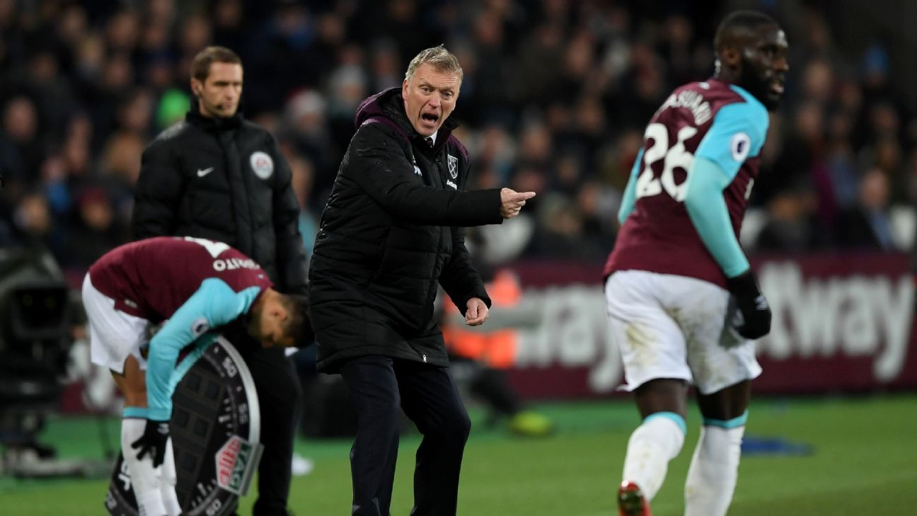 David Moyes taking things 'one step at a time' with West Ham project
