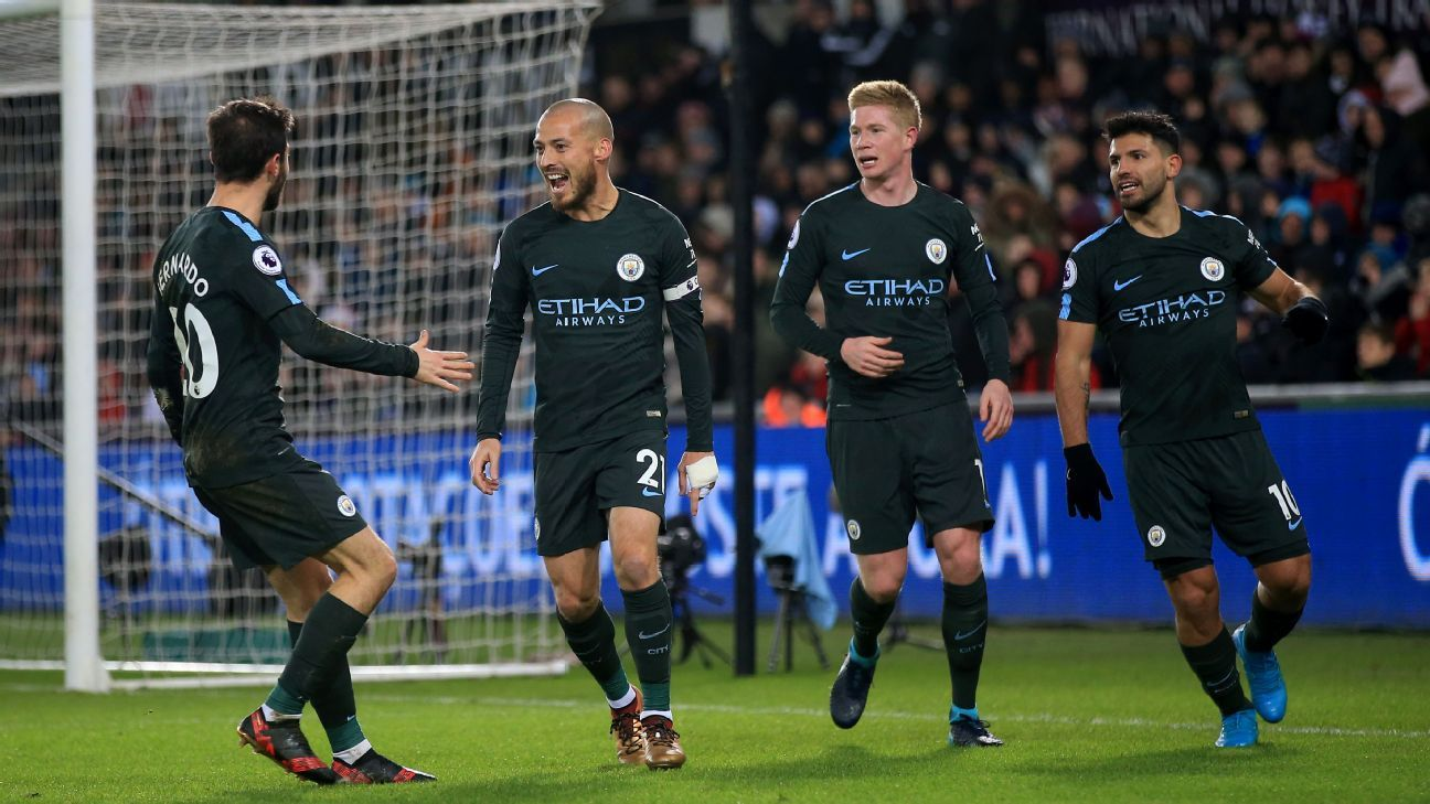 No limit for Pep Guardiola's Manchester City as Prem looks on in envy