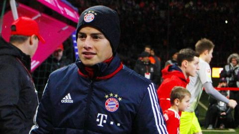 James Rodriguez Bayern Munich Stats