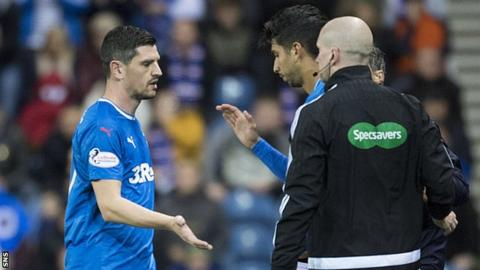 Graham Dorrans: Rangers midfielder out for three months after surgery