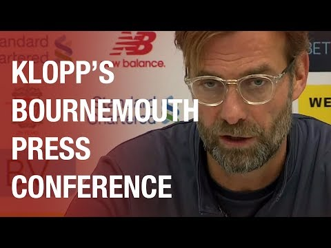 Jürgen Klopp's pre-Bournemouth press conference | Lallana return and Mignolet starts