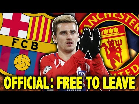 OFFICIAL: Atletico Madrid CONFIRM Antoine Griezmann's Transfer To Manchester United?! | #VFN