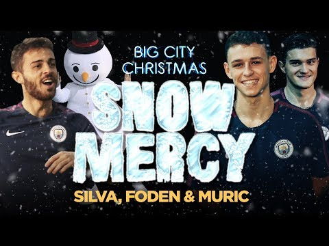 FODEN SHOWS SNOW MERCY! | Snowman Shooting Range | Bernardo, Foden & Muric