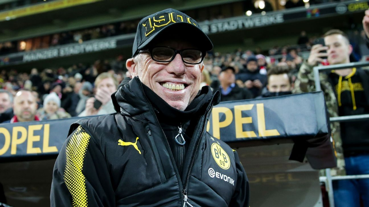 Stoger's pragmatic approach could be the tonic Dortmund need to recover