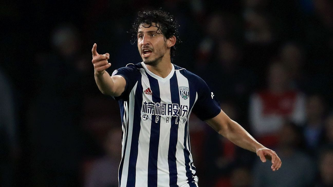 Hegazi happy to stay at West Brom after Pardew comments - agent