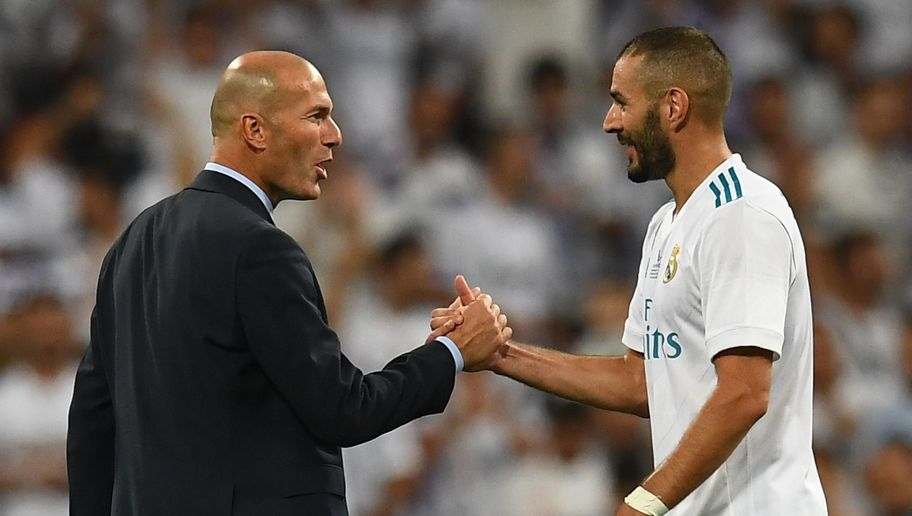 Zinedine Zidane Explains Why He Will Defend Under Fire Karim Benzema 'to the Death'