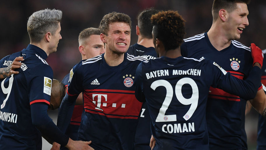 Stuttgart 0-1 Bayern Munich: Visitors Survive Late Drama as Bundesliga Actions Ends for 2017