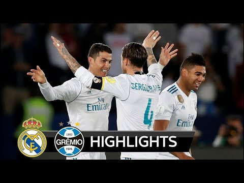 Real Madrid vs Gremio 1-0 - Extended Match Highlights - 16/12/2017 HD
