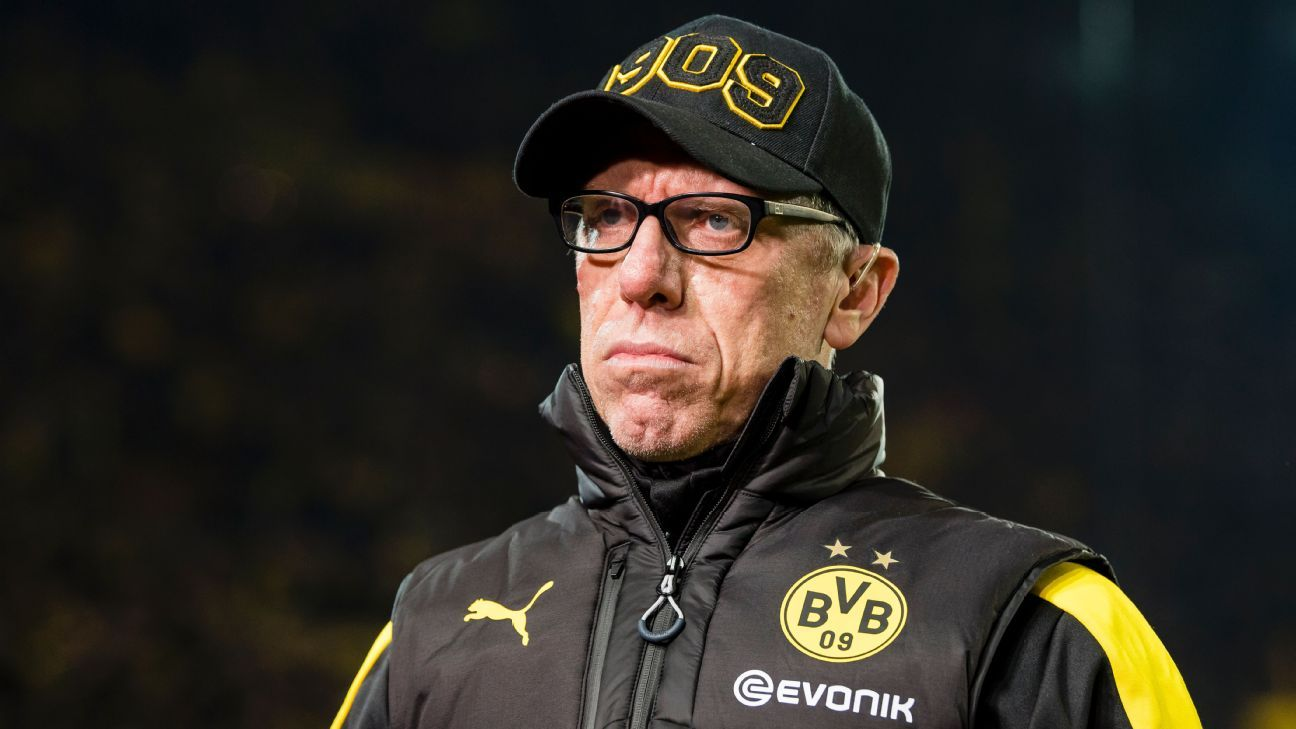Peter Stoger sees room for Dortmund to improve after his second win