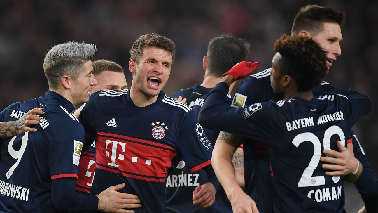 Substitute Muller comes to the rescue as Bayern beat Stuttgart 1-0