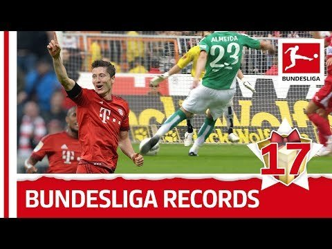 Best Bundesliga Records - Bundesliga 2017 Advent Calendar 17