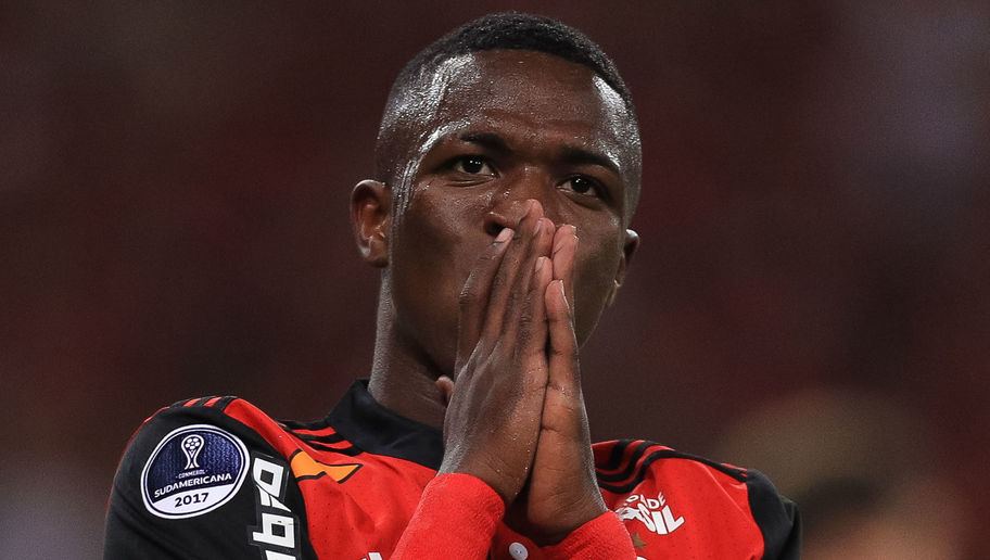 Real Madrid Wonderkid-in-Waiting Vinicius Junior Puts Hold on Summer Move to Spain