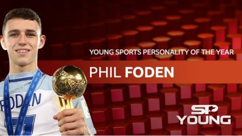 BBC Young Sports Personality of the Year 2017: Footballer Phil Foden wins