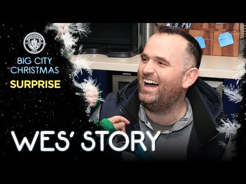 BIG CITY CHRISTMAS SURPRISE! | Wes' Story