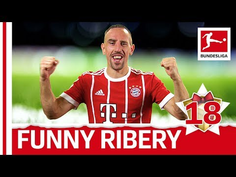 Franck Ribery - Top 5 Funny Moments - Bundesliga 2017 Advent Calender 18