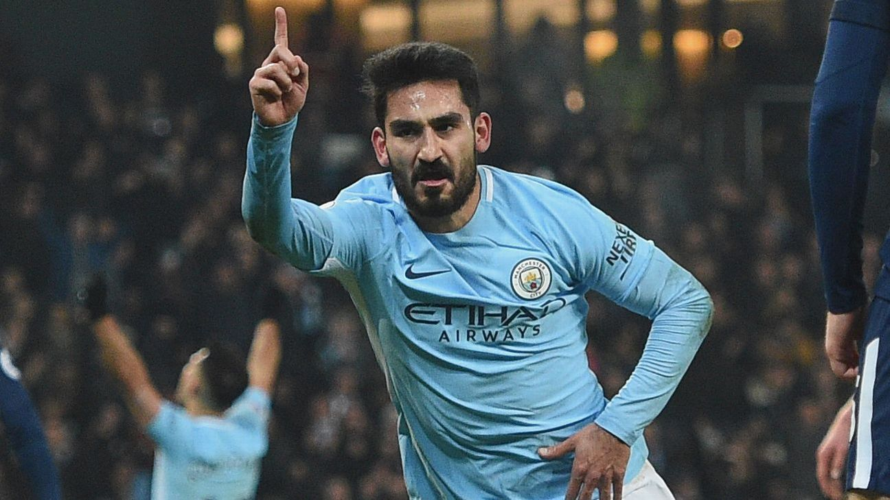 No David Silva, no problem: Ilkay Gundogan, Kevin De Bruyne lead Man City to win