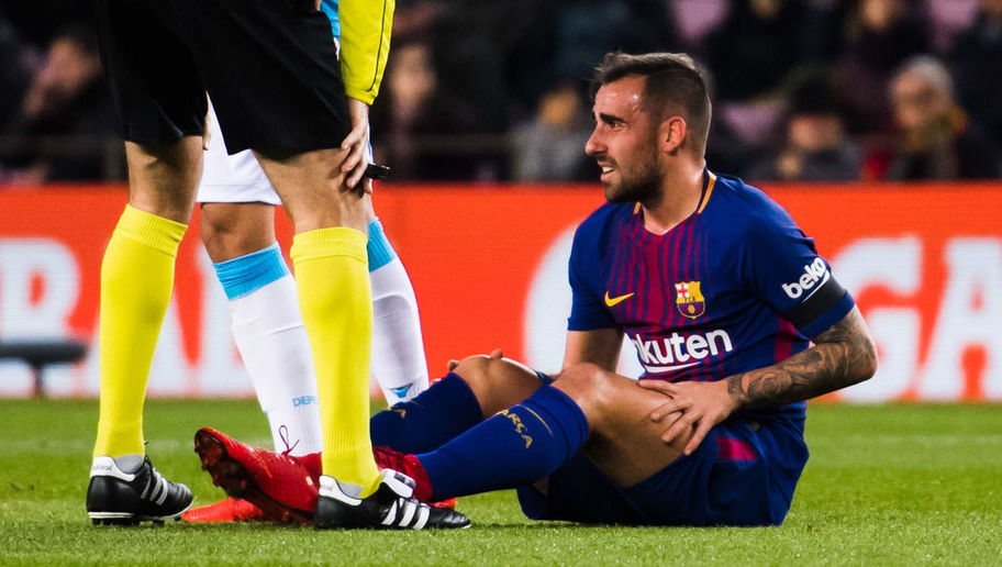 Barcelona Confirm Paco Alcacer Ruled Out for 3 Weeks With Muscular Injury