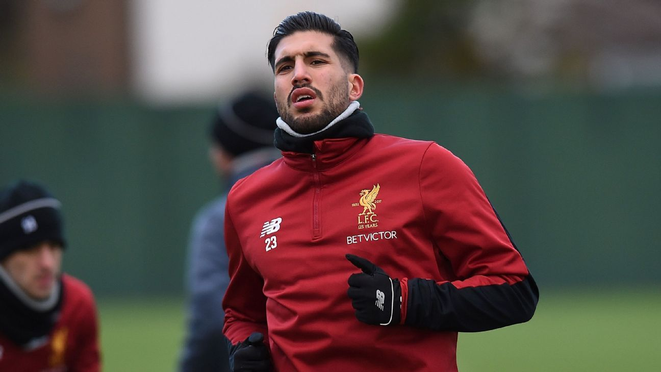Juventus expect to face competition for Liverpool's Emre Can