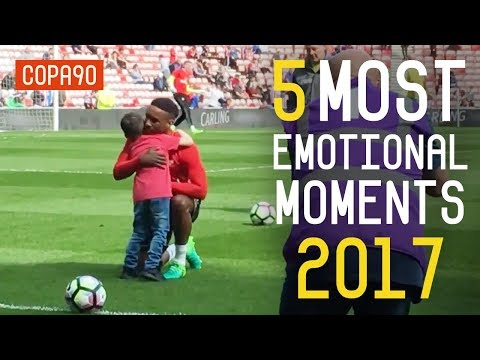 Top 5 Most Emotional Football Moments in 2017