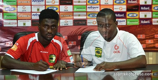 Newly signed Asante Kotoko defender Emmanuel Owusu sets sights on winning laurels with club