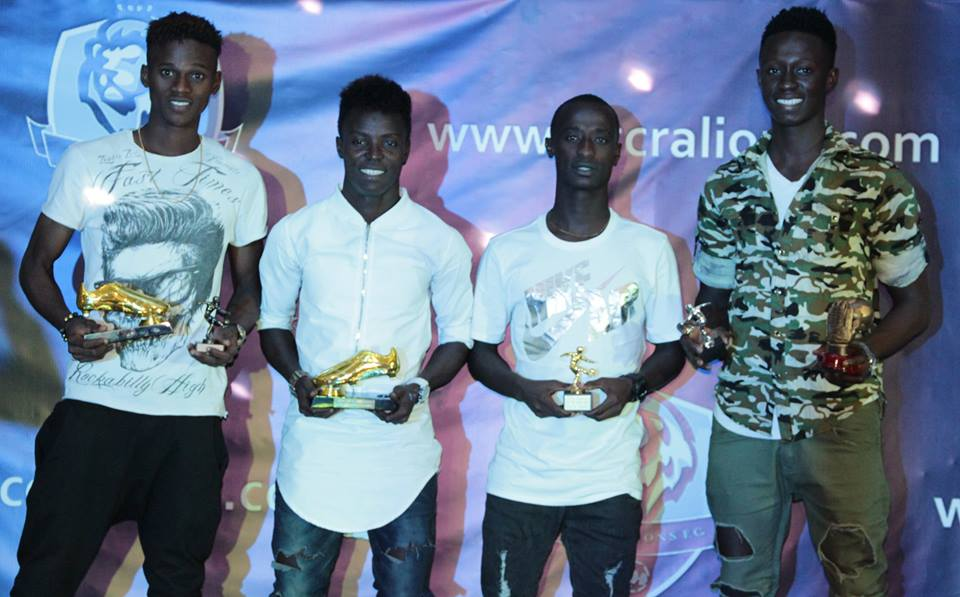 PHOTOS: Newly-promoted Division One League side Accra Lions FC hold end of season Gala night