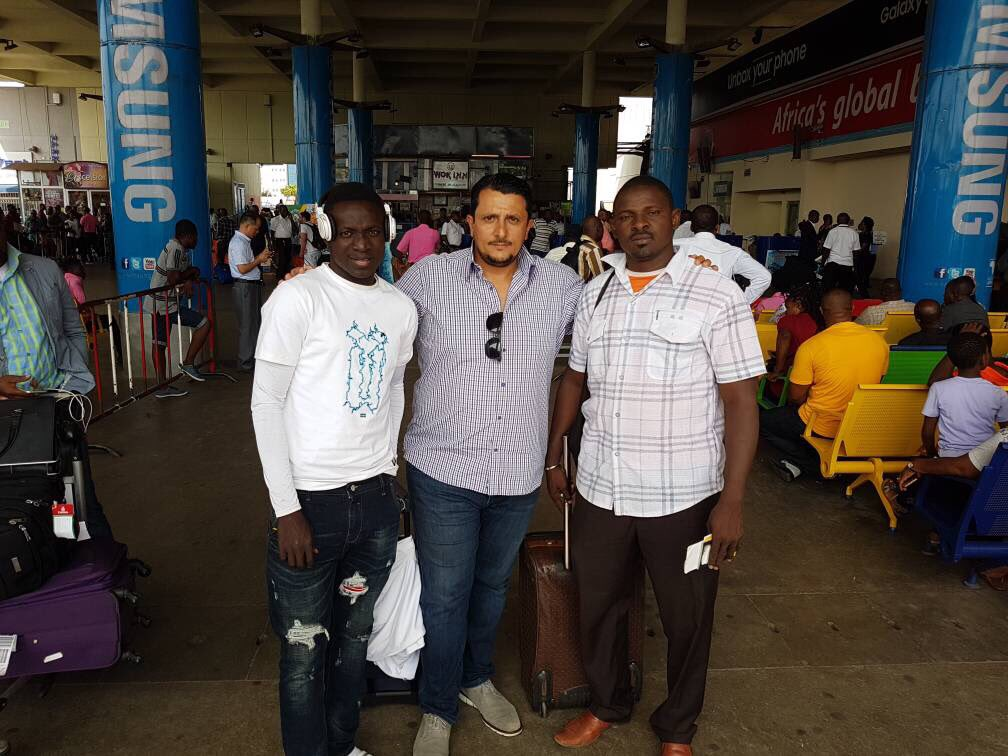 Niger star Victorien Adje Adebayor arrives in Ghana to complete Inter Allies move