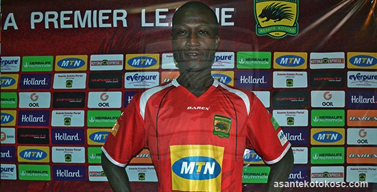 PHOTOS: Asante Kotoko unveil former striker Akakpo Patron as assistant coach