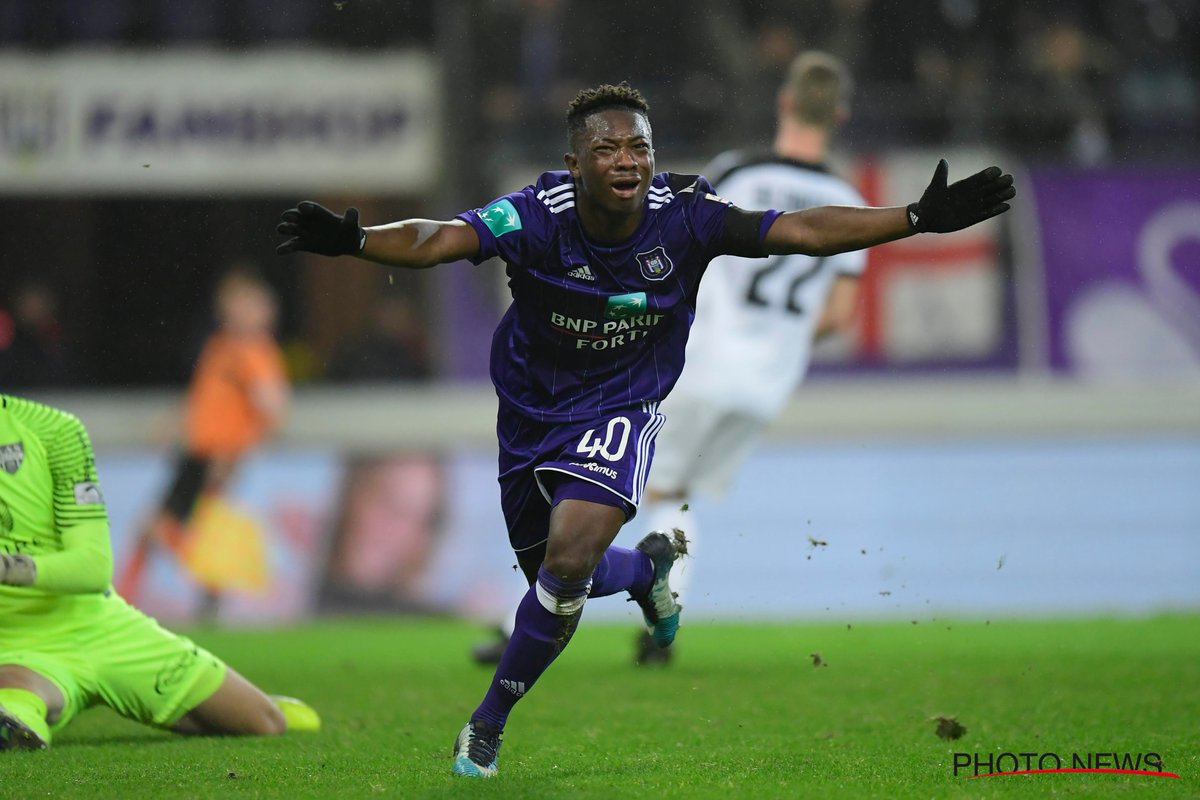 Ghanaian teenager Francis Amuzu SCORES on Anderlecht debut in slim win over Eupen