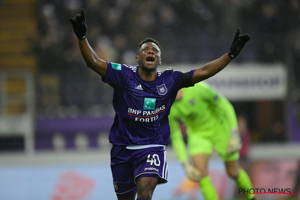 VIDEO: Watch Francis Amuzu's first Belgian league goal on Anderlecht debut