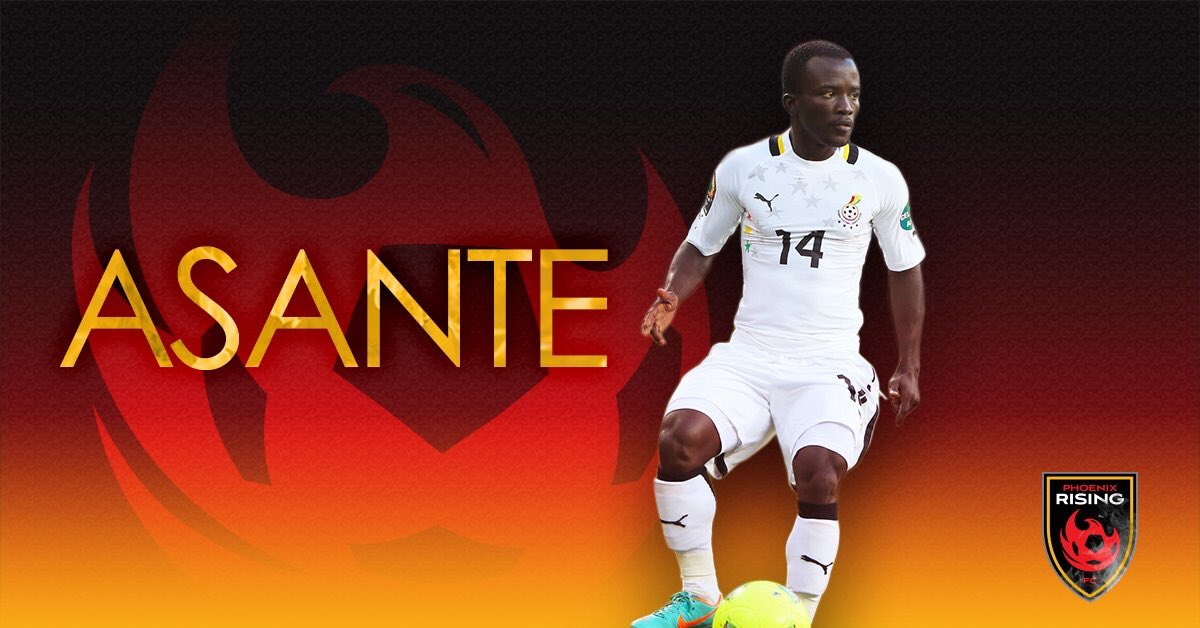 Solomon Asante joins Didie Drogba's Phoenix Rising after finally cutting ties with TP Mazembe