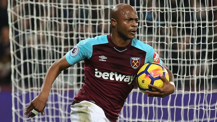 English Premier League side Swansea City eye Andre Ayew signing