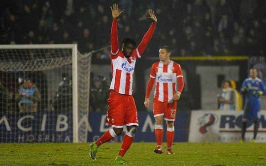 Red-hot Red Star Belgrade striker Richmond Boakye coy on future in winter window