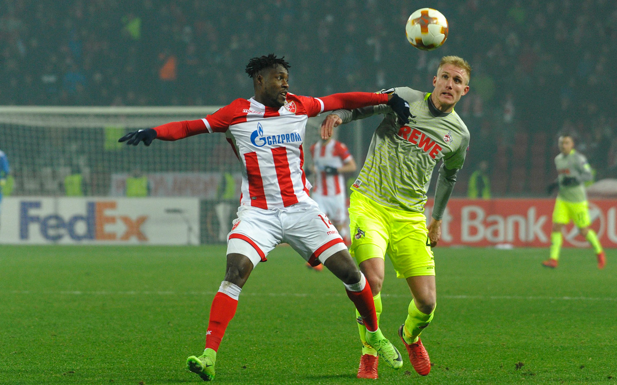 Europa League: Richmond Boakye fails to score but Red Star Belgrade win at home to reach last 32