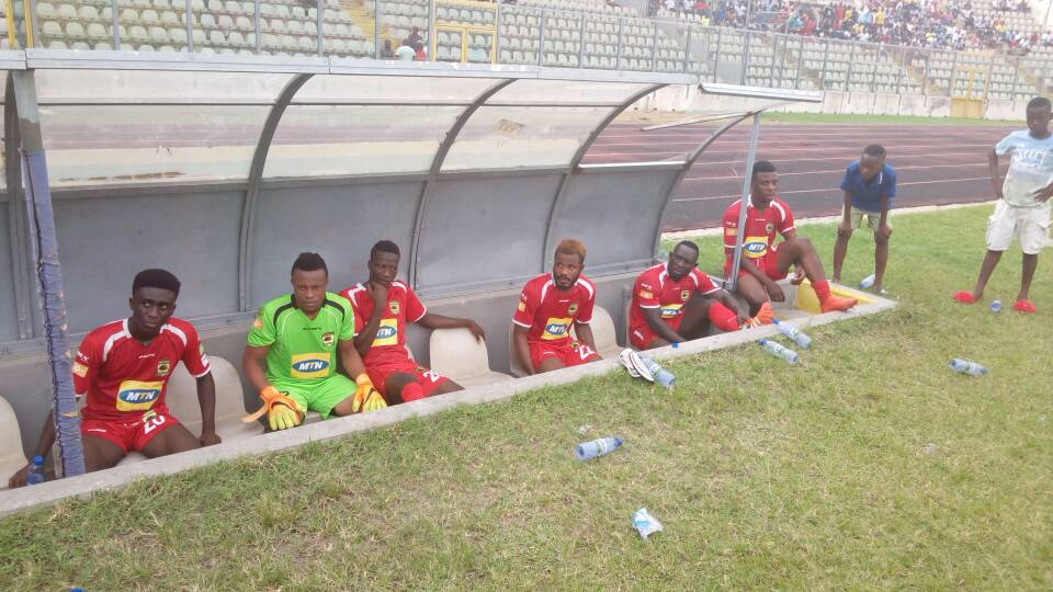 VIDEO: Asante Kotoko hit four past Corners FC in first pre-season friendly