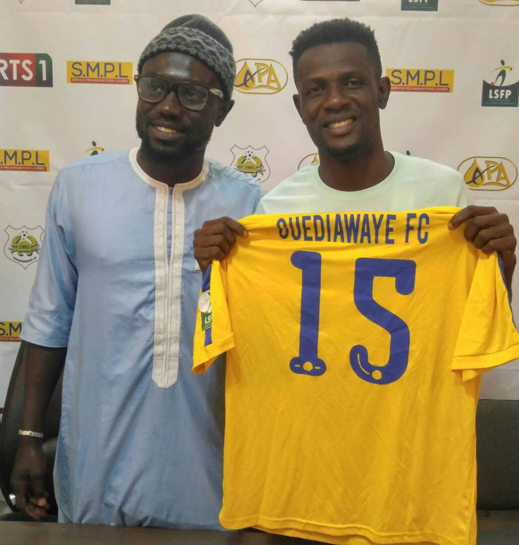 EXCLUSIVE: Ghanaian winger Eric Darko pens two-year contract with Senegalese side Guediawaye FC