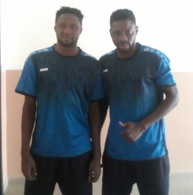 Ghanaian duo Farouk Mohammed and Tofic Umar disclose why they opted for Enyimba FC