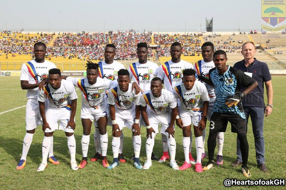 GHALCA 8 Match Report: Hearts of Oak 3-2 Ebusua Dwarfs - Zuma double secures Phobians semi final berth
