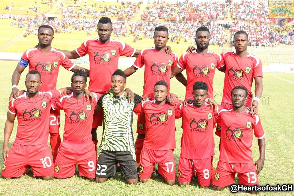 Asante Kotoko line-up