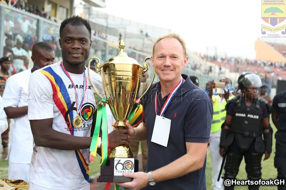 PHOTOS: Hearts of Oak win Ghana @60 Anniversary Cup
