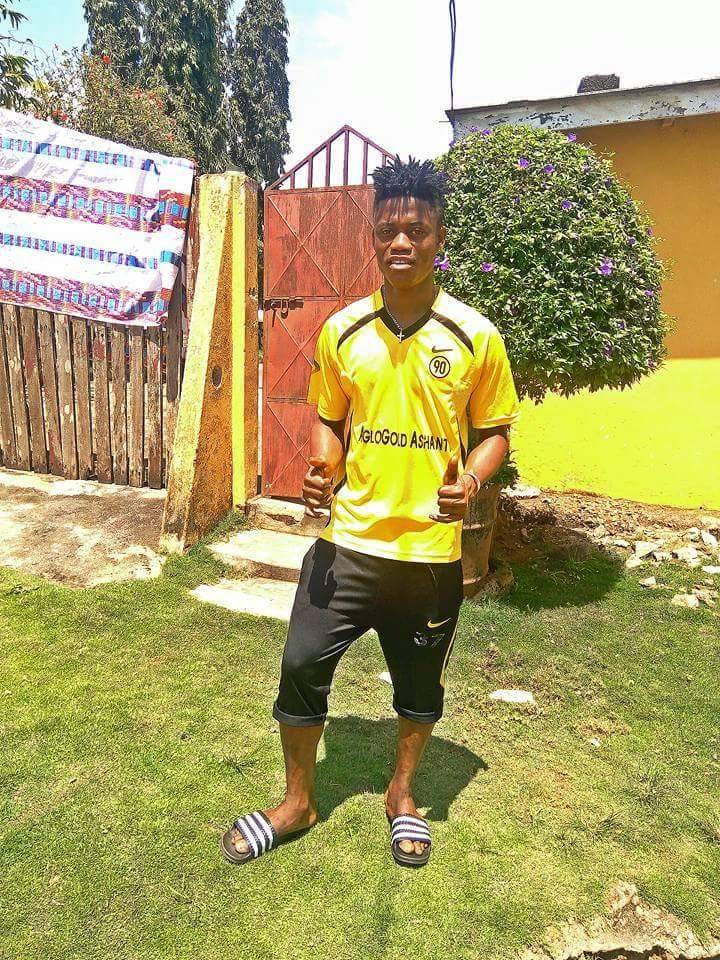 AshGold part ways with youngster Paul Abakah