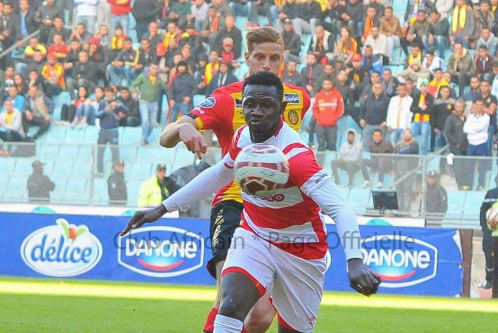 Club Africain fans 'blast' Referee Chaabane' wrong call on Nicholas Opoku in derby defeat