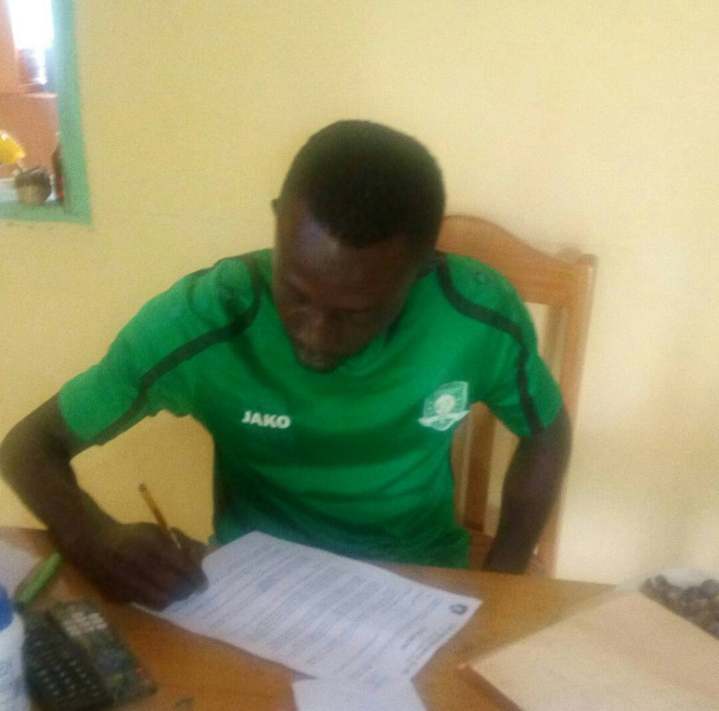 Newly signed Aduana Stars defender Hafiz Adams eyes CAF Champions League glory