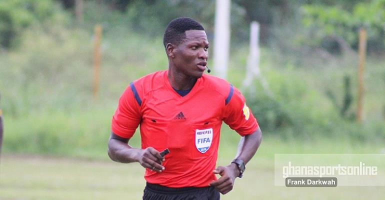 Ghana's Daniel Laryea named amongst referees for 2018 CHAN tournament