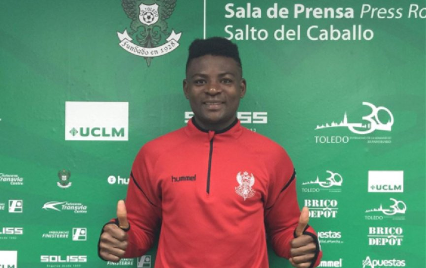 PHOTOS: Spanish side CD Toledo sign Ghanaian midfielder Mohammed Amado